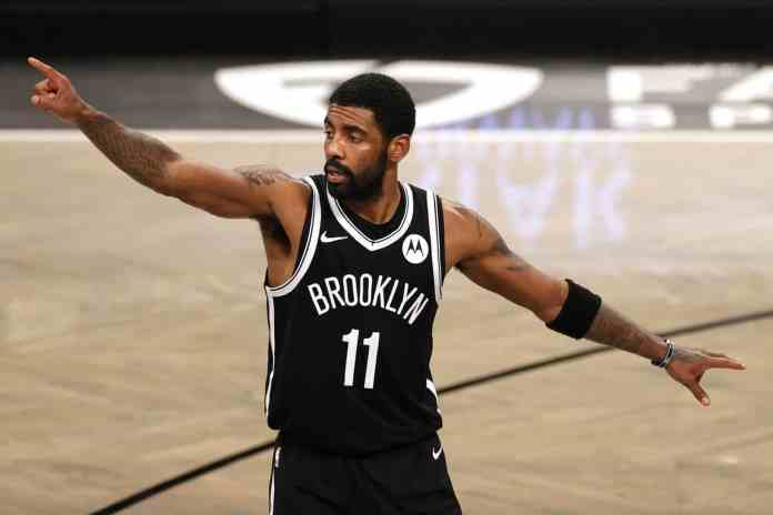 Kyrie Irving has missed Brooklyn Nets' last 5 games.