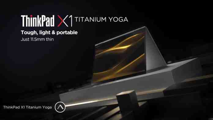 CES 2021: Lenovo unveils ThinkPad X1 Titanium Yoga, its Thinnest ThinkPad ever