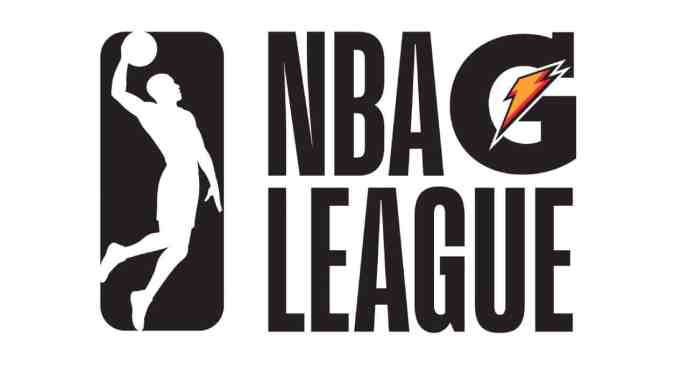 Logo of the NBA G League.
