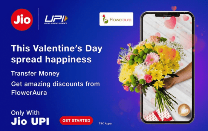 Jio brings new Jio UPI FlowerAura Offer