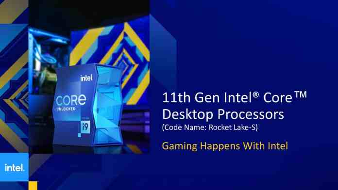 Intel's Rocket Lake line-up with 14nm process finally unleashed
