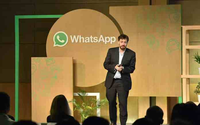 Apple's privacy labels are discriminatory, believes WhatsApp Head will Cathcart