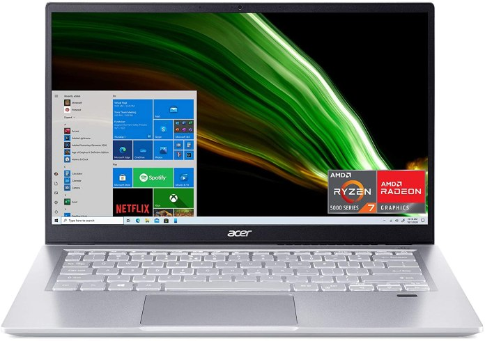 The 2021 Acer Swift 3 with AMD Ryzen 7 5700U now available on Amazon