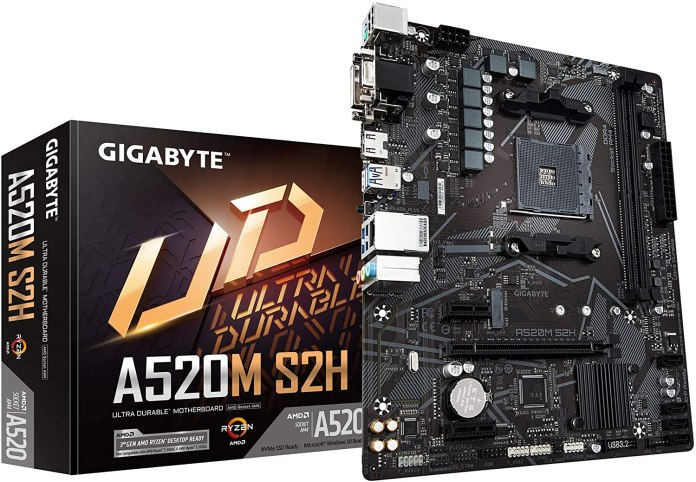 Deal: Gigabyte A520M S2H motherboard gets a 25% discount on Amazon
