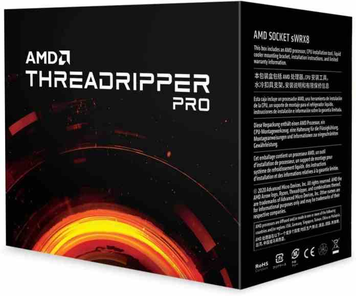 AMD Ryzen Threadripper PRO 3000WX Series Processors now available for consumers