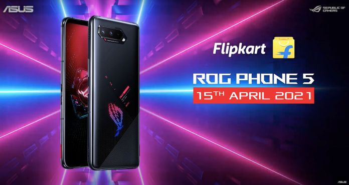 ASUS ROG Phone 5 with Snapdragon 888 chipset, 144Hz refresh rate and 6,000mAh battery launched in India | Find all about it here