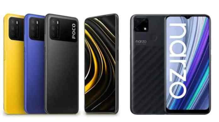 Realme Narzo 30A vs Poco M3: Full specs comparison