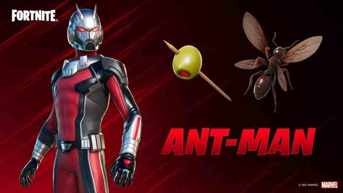 Ant-Man is Now Available in The Fortnite Item Shop