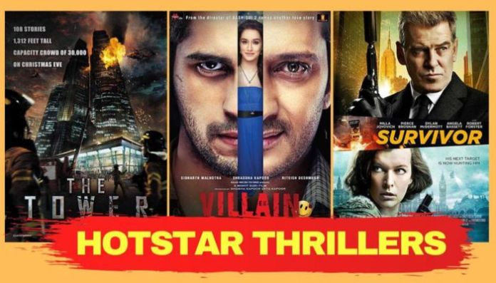 Top 10 Thrillers available on Disney+ Hotstar