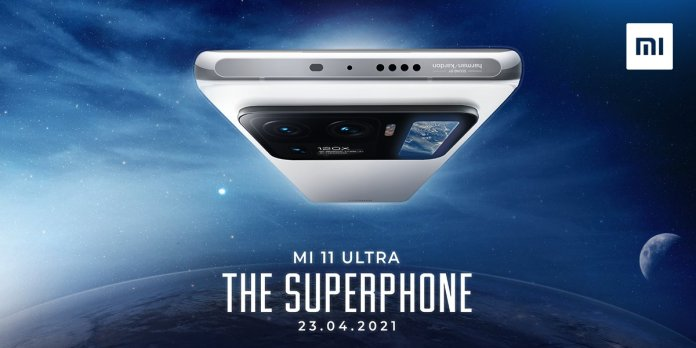 Mi 11 Ultra launching in India on 23rd April
