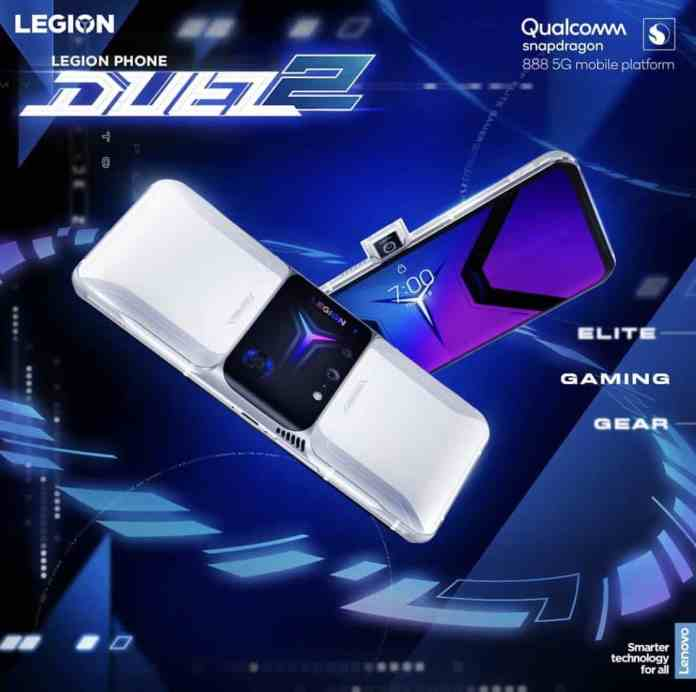 Lenovo Legion Duel 2 launched with Snapdragon 888 and up to 18 GB of RAM in China
