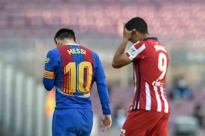 Messi was offered a late deal from Atletico Madrid prior to PSG signing
