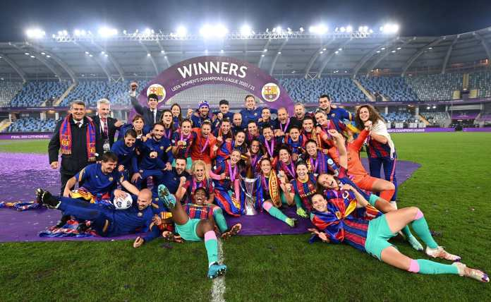 Barcelona Femeni win the first-ever Women's Champions League title