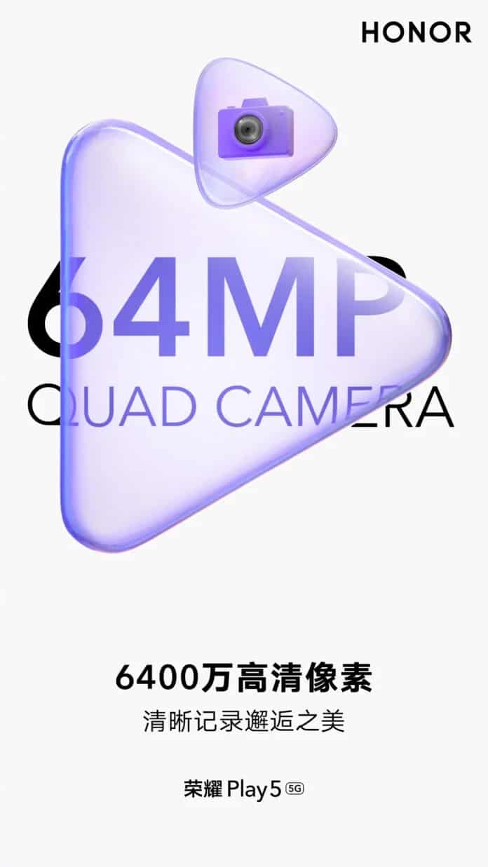 Honor Play 5 which will be launched with quad rear camera setup on 18 May
