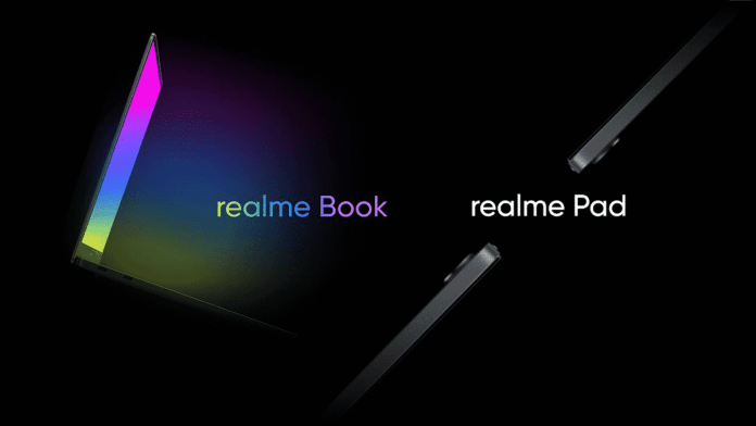 Realme Book and Realme Pad officially confirmed to launch soon
