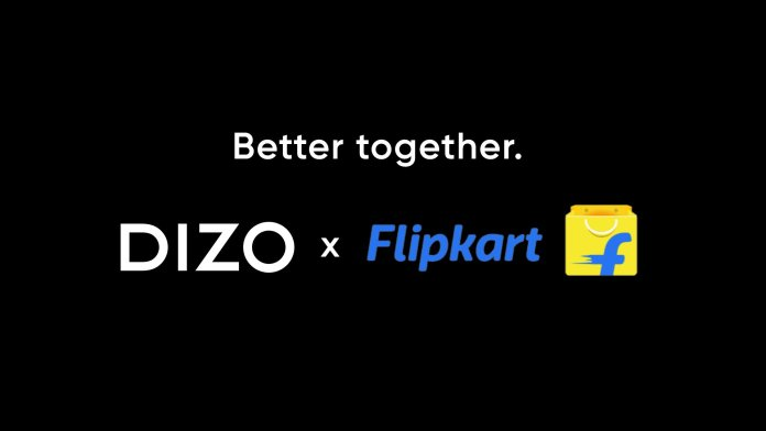 DIZO, from realme TechLife, partners with Flipkart for online consumers in India