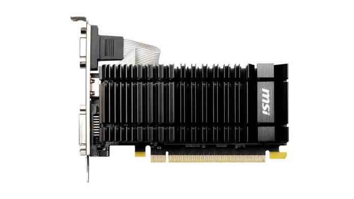 MSI re-releases the old GeForce GT 730 to tackle GPU shortage