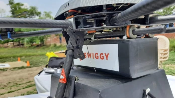 Swiggy and ANRA Technologies come together to launch drone delivery trials in India