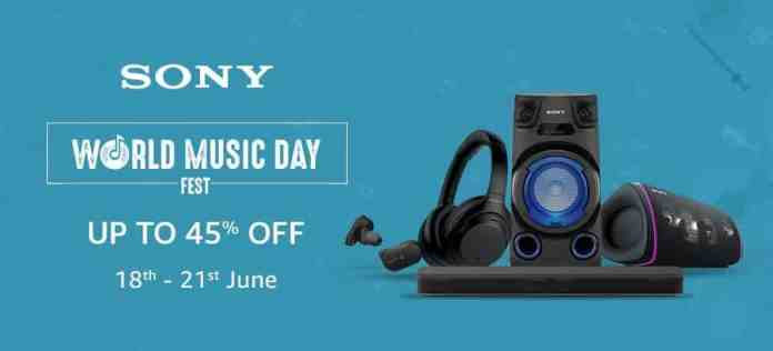 Sony India introduces Special Offers to celebrate World Music Day__TechnoSports.co.in