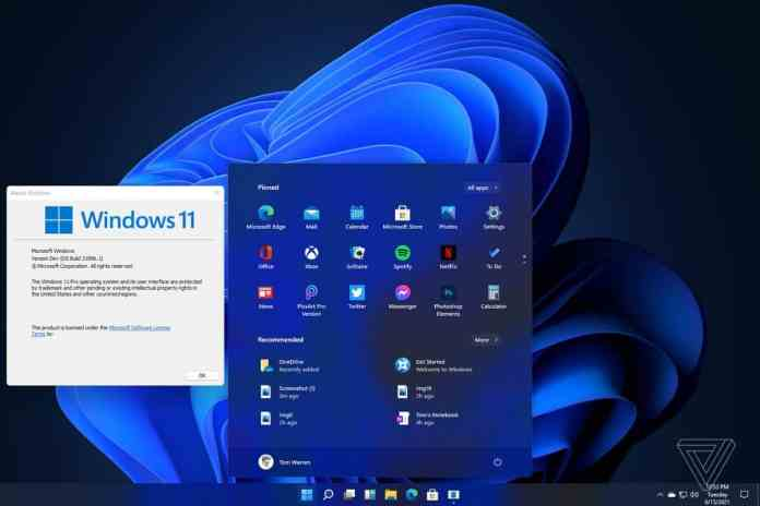Windows 11 might contain improvements to increase performance with the Alder Lake series
