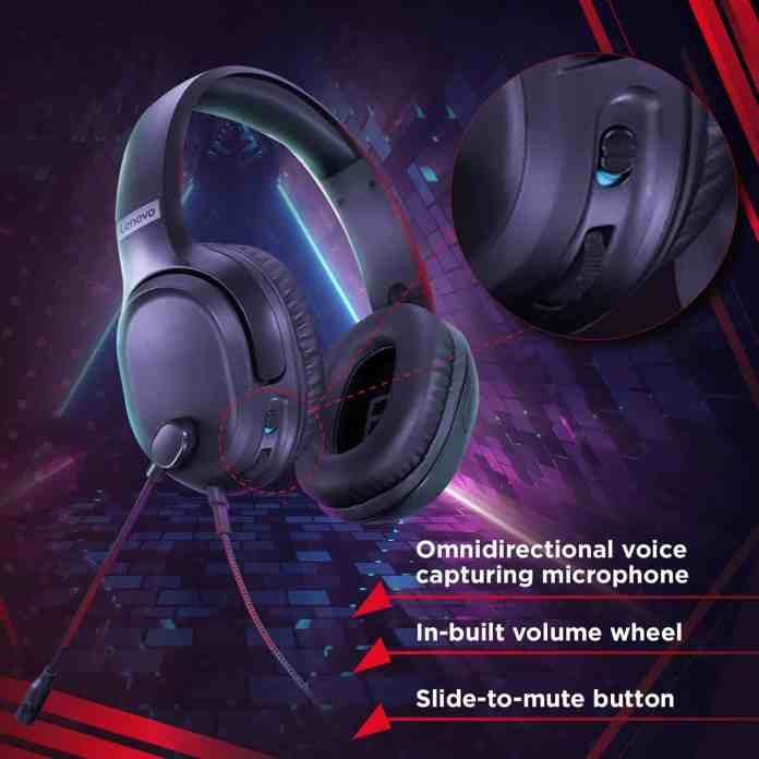 Lenovo IdeaPad H100 Gaming Headset launched before Prime Day at ₹2,250
