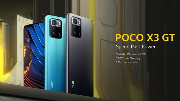 POCO X3 GT launched Globally
