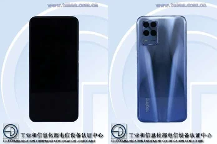 Realme RMX3381 specifications and images listed at TENAA