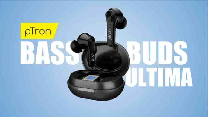 pTron Bassbuds Ultima launching with ANC in the Amazon Prime Day