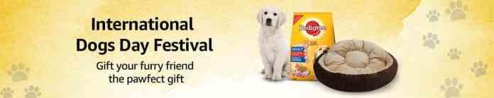 Amazon India announces the International Dog Day Store