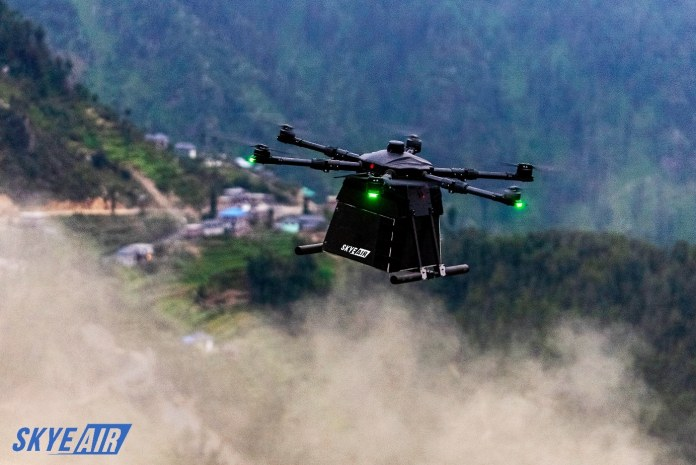 Drone delivery start-up Skye Air Mobility is announcing its collaboration with AirGo Design by becoming a member of the Drone Logistics Ecosystem_TechnoSports.co.in