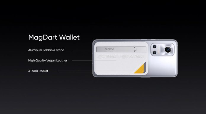 Realme MagDart Wallet is its own version of Apple's MagSafe Wallet renders leaked