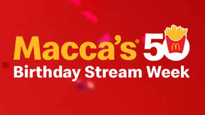 McDonald's 50th Anniversary Week_TechnoSports.co.in