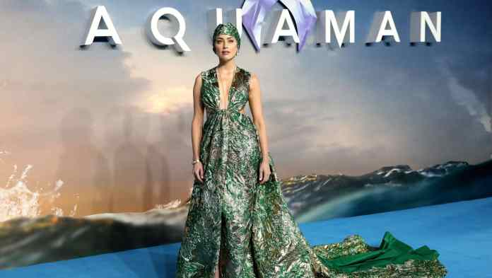 Amber Heard would not be removed by Aquaman 2 Filmmakers because of Johnny Depp's fans
