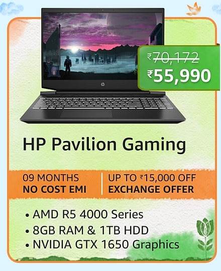 Best budget Gaming laptop deals on Amazon Great Freedom Sale