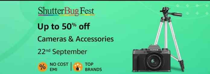 Need a Camera or accessories? Shutterbug Fest is here on Amazon.in