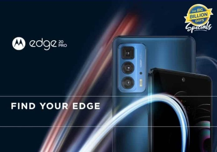 Motorola confirmed the official launch date of the Motorola Edge 20 Pro in India