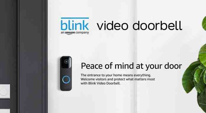 Amazon's Blink launches a Nest-like Smart Video doorbell and Floodlight Camera mount
