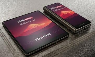 Fujifilm foldable smartphone looks like Galaxy Fold 3