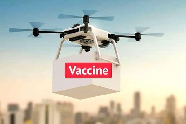 Trials for Vaccine Delivery by Drone kick starts from tomorrow, 9th September in Telangana_TechnoSports.co.in