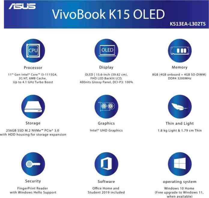 ASUS Vivobook K15 OLED will be the cheapest laptop with an OLED display