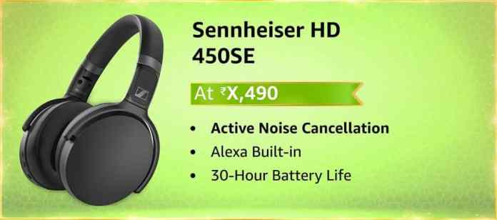 Sennheiser HD 450SE with Alexa Built-in launching on Amazon Great Indian Festival