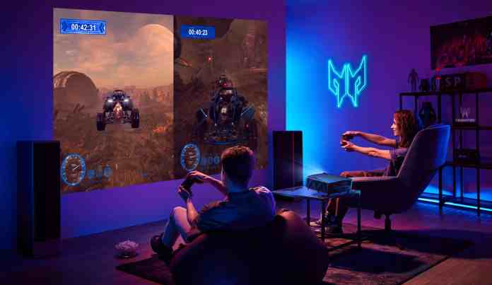 Acer Predator GD711 and Predator GM712 Gaming Projectors launched