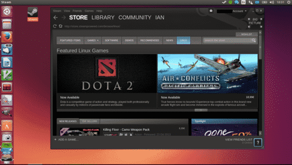 Here's how you can game on Linux using Steam