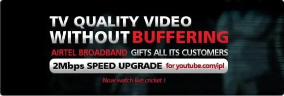 Airtel IPL Youtube