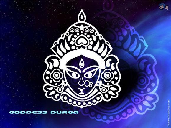 Bengali style Goddess Durga