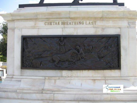 Death of Chetak