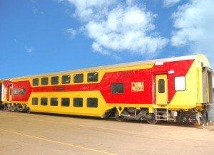 Indian Double Decker Train