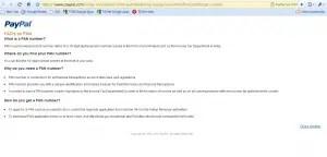 PayPal FAQ Details
