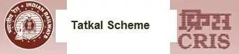 Tatkal Scheme for Indian Railway