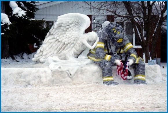 9 11 Ice Sculpture